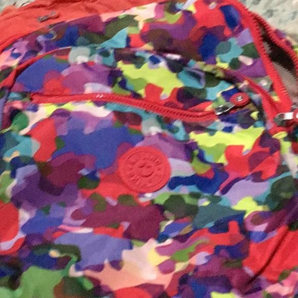 Kipling Handbags - ❤️💜💙Kipling Seoul Backpack Laptop, Artful Blend